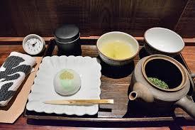 お茶と和菓子セット
