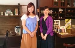 鈴木春花の狭山茶楽々(さらら)なお話 vol.4_山梨の日本茶カフェを訪ねました